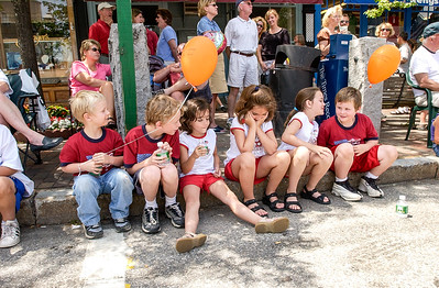 7/04  Russ Dillingham photos kids family boys Spruce Head vacation 2004