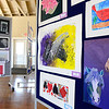 Student artwork for the 4th Annual Avon Fine Arts Extravaganza, at Avon Isle, 37080 Detroit Rd, on Apr. 23.  The District Art show is open Tuesday from 4 p.m. to 8 p.m. and Thursday from 4 p.m to 6 p.m.  STEVE MANHEIM / CHRONICLE