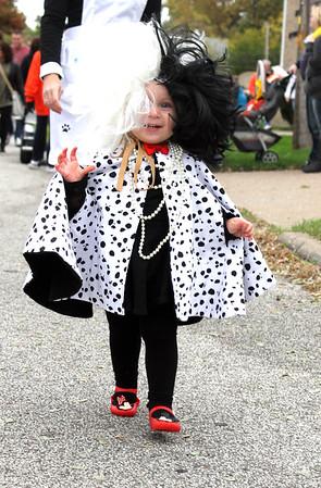 Amherst Halloween parade