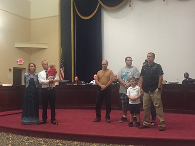 Elyria workers honored by council