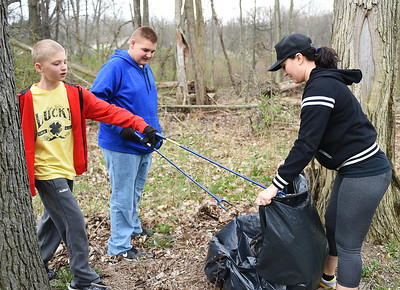 Rowland Nature Preserve cleanup