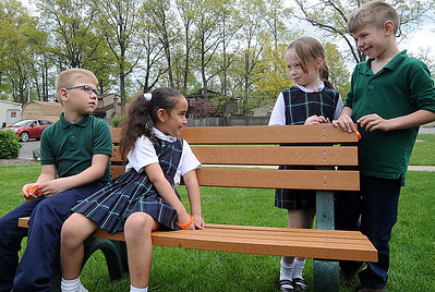 St. Jude School installs Buddy Bench