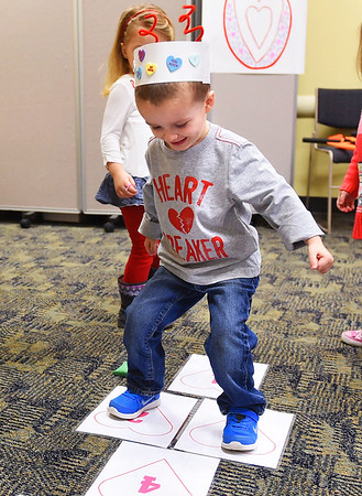 Valentine's Day party at North Ridgeville Public Library