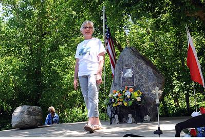Wellington rededicates memorial to firefighter