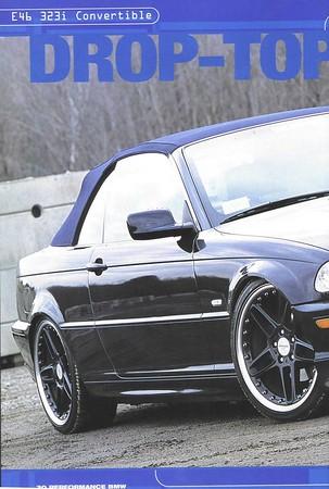 Drop Top Dream, Performance BMW, November 2001