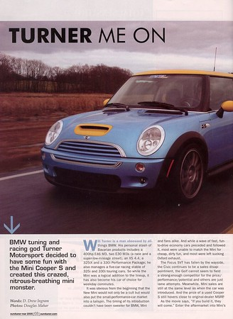 Turner Me On, eurotuner, March 2005