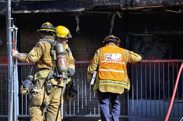 Apartment Fire-Colorado Springs-CSFD