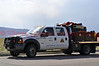 Colorado Springs Utilities Brush Truck, Wildland Fire Team 2, on assignment of the Black Forest Fire Incident. This massive fire is located North of Colorado Springs, Colorado, USA.