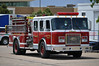 Alamosa Fire Department's Engine 2 assigned to help out on the Black Forest Fire.