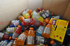 """Gatorade donations were accumulating at the Colorado Springs Care and Share today!<br /> Find out how you can help by checking out the latest needs on their website at: <br /> <a href=""""http://careandshare.org/"""">http://careandshare.org/</a><br /> <br /> Message Update from Care and Share:<br /> Care and Share Food Bank would like to thank the entire Southern Colorado community for generously supporting our wildfire relief efforts to this point. We would like to provide an update regarding our food drive. <br /> As of Friday, June 14th we have collected 188,563 pounds of food and beverage. We have distributed 120,109 pounds to fire fighters, first responders, the Disaster Response Center and our partner agencies in the immediate areas of Black Forest and Canon City. We currently have 68,454 pounds of food and beverages available for distribution. At the current rate of distribution the food and beverage on hand will meet the need for only two days. Care and Share Food Bank see this as critical situation because of our response to multiple fires within our service area. We are calling on our community to help us meet the needs of firefighters, first responders, and our permanently and temporarily displaced neighbors."""