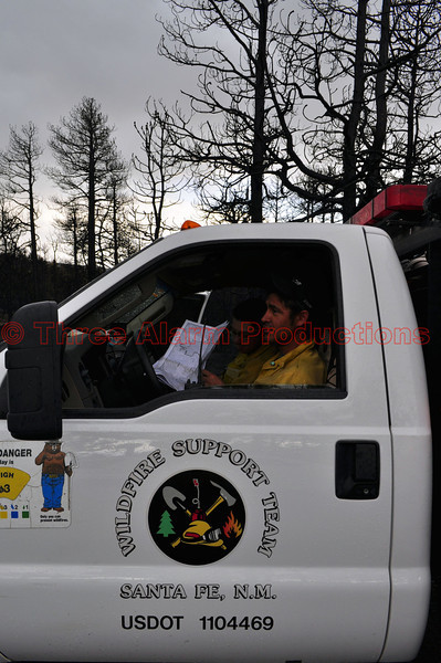 Wildfire Support Team from Santa Fe, New Mexico on the Black Forest Fire Incident.