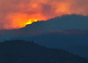Destroyed portions of forest seen in the foreground of the sunset, on Day 2 of the Waldo Canyon Fire Incident.