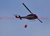 Aerial firefighting on the Waldo Canyon Fire, Colorado Springs, Colorado, USA.