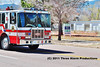 Colorado Springs Fire Department's Engine 3 responding code 3 to a medical. Seen heading northbound on N. Weber Street.