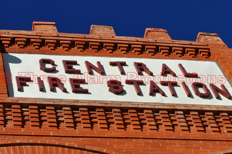 Cripple Creek's early era Central Fire Station, Colorado.