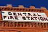 Cripple Creek's early era Central Fire Station, Colorado.