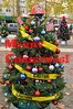 One of the many Christmas Trees that were on display in December 2012, at the downtown park in the Town of Windsor, California.
