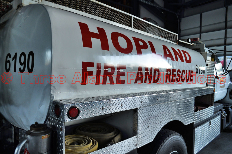 Hopland Fire and Rescue-Tanker 6190, California