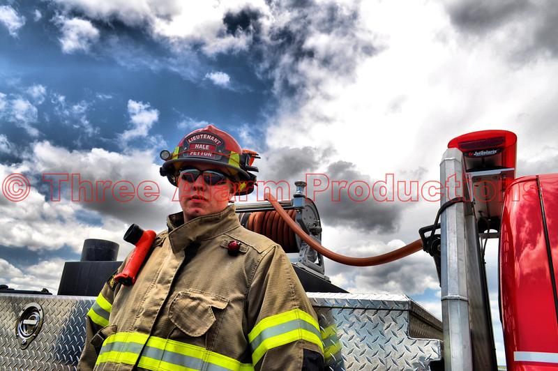 Peyton Fire Lieutenant Hale in El Paso County, Colorado.