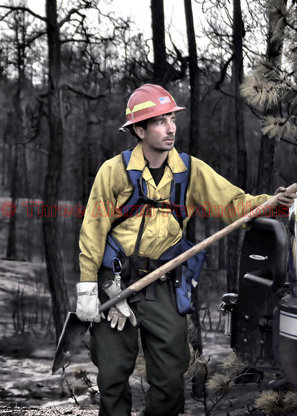 Wildland Firefighter on the Black Forest Fire.