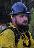 Wildland Firefighter on the job of the Black Forest Fire Incident.