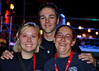 Hanover Firefighters working the events, downtown Colorado Springs, Colorado at the 2012 Olympic Opening Ceremony Celebration. Left to Right, Hanover Firefighter Bush, Firefighter Wilson, and Firefighter Chapman.