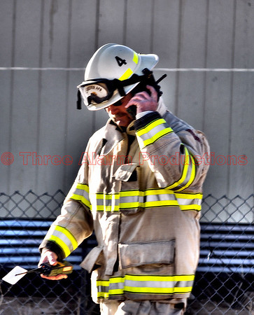 Firefighters--up close & personal