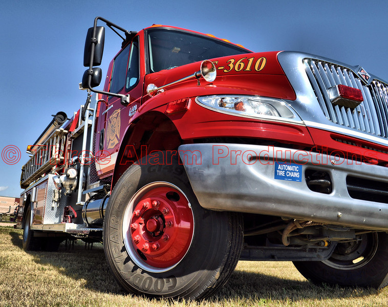 Peyton Fire Protection District's Fire Engine 3610 at their 25 year celebration.