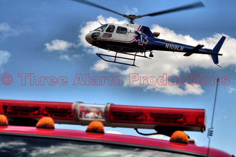 Memorial Star Medical Transport attending Peyton Fire District's celebration.