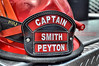 Captain Smith's Helmet with Peyton Fire Protection District, Peyton, Colorado.