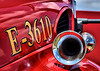 Air horn located on Peyton Fire Department's Fire Engine 3610, in service and ready for emergency dispatches and to be staffed with Volunteer Fire Fighters at Peyton Fire Station No. 1, in Peyton's Fire Protection District in the Community of Peyton, Colorado, located in El Paso County, United States of America.