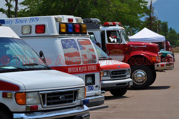 Waldo Canyon Fire El Paso County, Colorado USA Day 2 News June 24, 2012