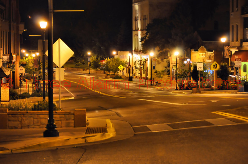 Manitou Springs, evacuated and empty due to the threat of the Waldo Canyon Fire on June 24, 2012.