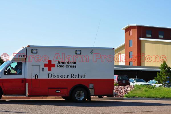 Waldo Canyon Fire El Paso County, Colorado USA Day 10 News July 2, 2012
