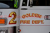 Golden Fire Department's Engine 2 doing fill-in at Colorado Springs, Colorado Fire Station 6, during the Waldo Canyon Fire Incident.
