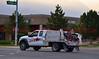 Falcon Fire Brush Truck 343 enroute to the Waldo Canyon Fire.