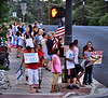A great show of support could be seen coming from a group of excited people at the intersection of W. Colorado Avenue and S. 31st Street for the emergency workers on the Waldo Canyon Fire.