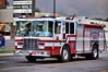 Colorado Springs Engine 10 seen heading East on W. Colorado Avenue.