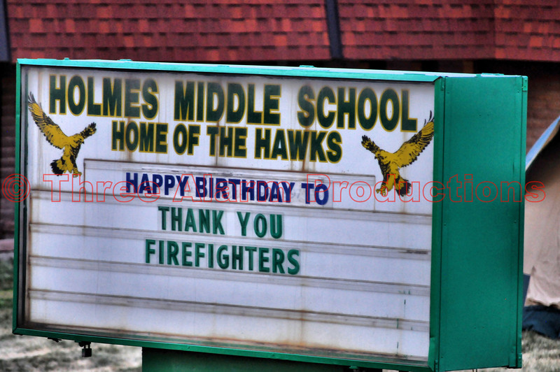 Holmes Middle School was turned into a mini city as the Incident Command Post for the Waldo Canyon Fire.