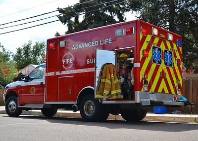 House Fire-Bennett LN-Colorado Springs-CSFD