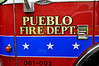 Pueblo Fire Department's Engine 3.