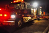Stratmoor Hills Fire Engine 410 on the scene of a shed fire. October 28, 2013