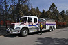 Fire Engine/Tender No. 712 and crew from Bullhead City Fire Department, in Arizona, assigned to the Black Forest Fire Incident, working on final mop-up of smoldering debris, in residential areas.<br /> <br /> Fire Engine/ Tender 12 is a 2010 Freightliner with 2500 gal water tank, 1250 gpm pump, and a CAFS unit, that responds out of Station One back in Bullhead City, Arizona.