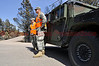 Colorado National Guard Units have been a tremendous help working at the Black Forest Fire Incident, helping to control traffic check points, and assisting with local police to keep out looters.<br /> <br /> Evacuations are still in effect within the fire area. Residents with proper documentation are being allowed to enter the evacuation area for a specified amount of time each day.