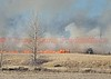 Multiple El Paso County Fire Departments respond to a wind-driven wildland interface fire, in Ellicott, Colorado. March 28, 2015