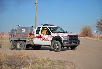 Wildland Interface Fire-Ellicott Colorado-El Paso County