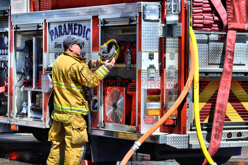 Colorado Springs Engine 7 is the primary for fire attack and water supply.