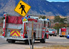 "Colorado Springs Fire Engine 14 staged on W. Baptist Road and Old Denver Highway in Monument for a structure fire, mutual aid response with Tri-Lakes FD.<br /> See more pictures at: <a href=""http://5280fire.com/?p=47653"">http://5280fire.com/?p=47653</a>"