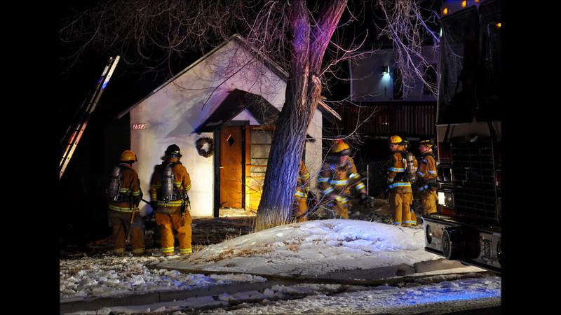 On scene interview with CSFD PIO Lt. John Aker, at 2512 Tremont Street, house fire. December 10, 2013