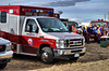 Falcon/AMR Medic-381 on standby at a structure fire in Falcon, Colorado at the Big R Store.
